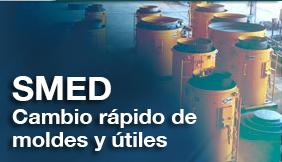 Curso de metodología SMED de cambio rápido de moldes