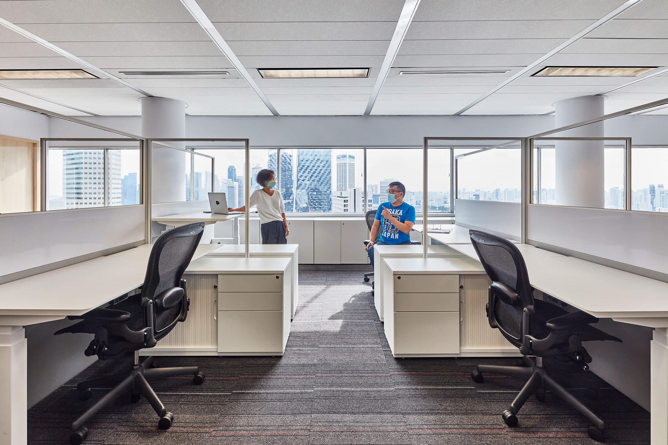 Chemical Client Singapore Office Design