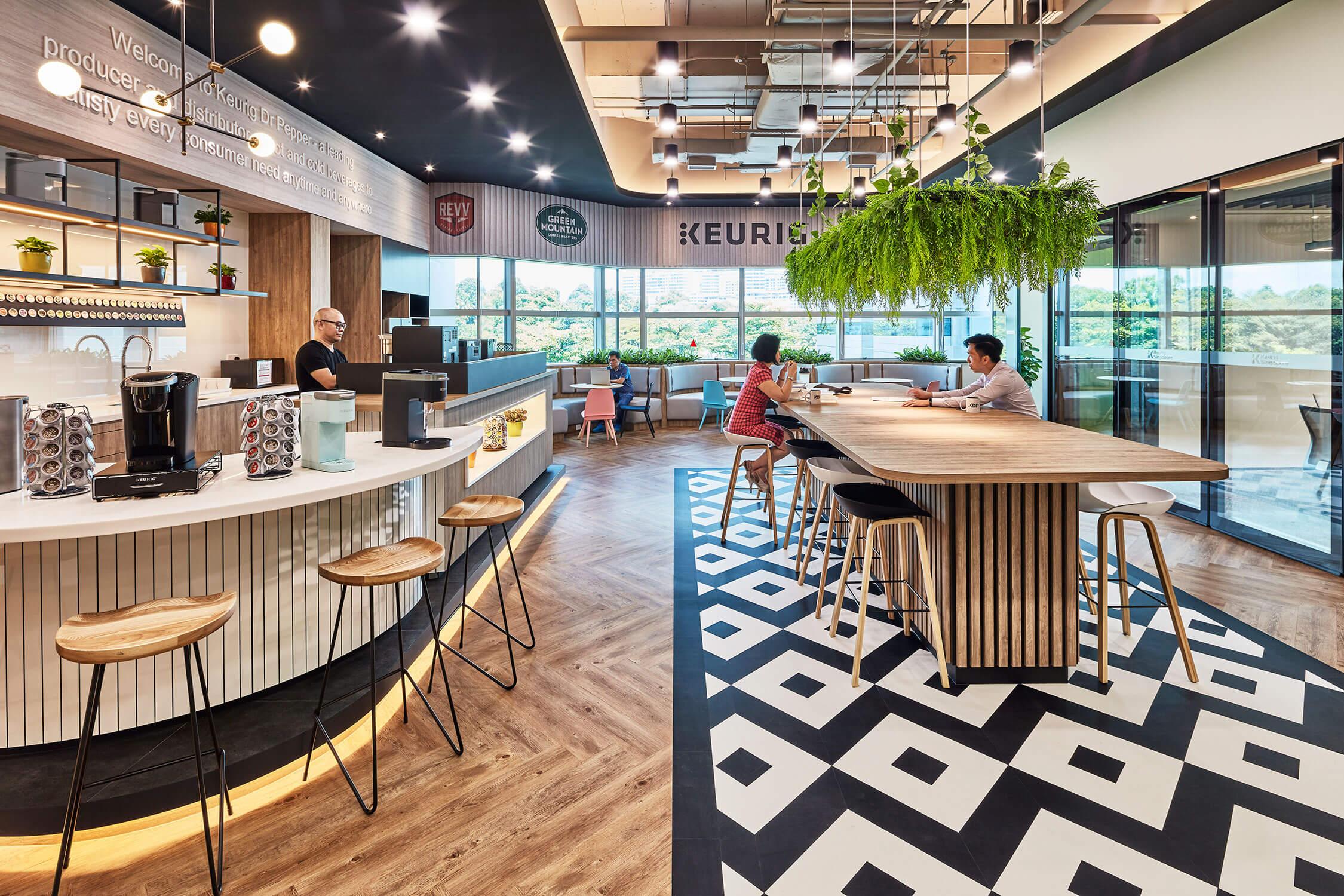 Keurig Singapore Office Design