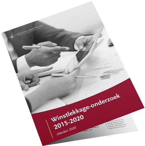 Cover van het Winstlekkage-onderzoek